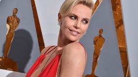 Oscary 2016: Charlize Theron na czerwonym dywanie