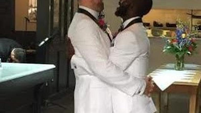 Nigeria gay man marries his partner in New York