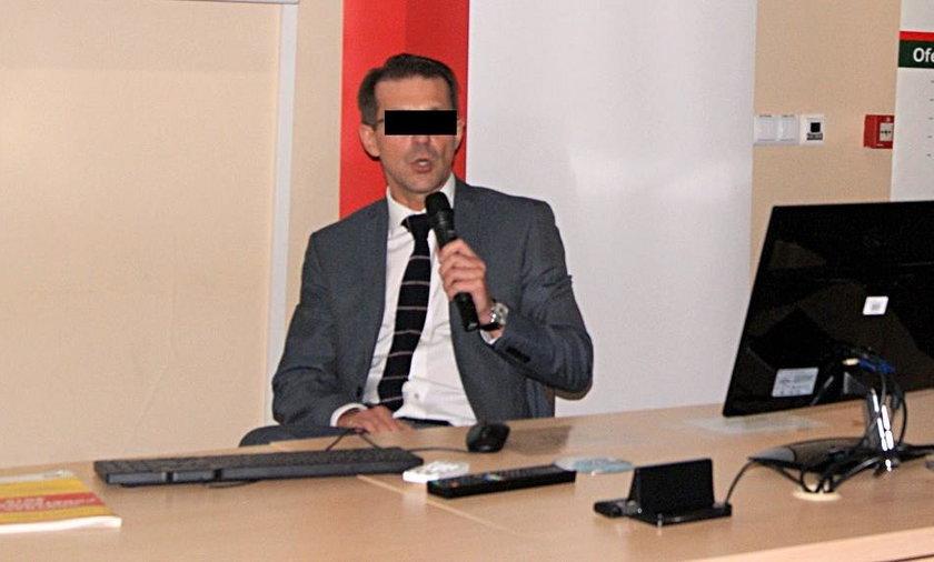 Grzegorz P. został zatrzymany przez CBA