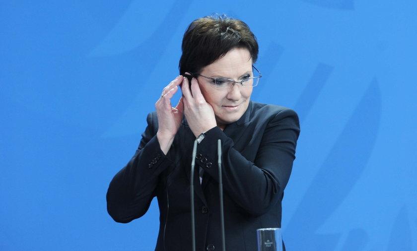 Wizyta Ewy Kopacz w Bundestagu