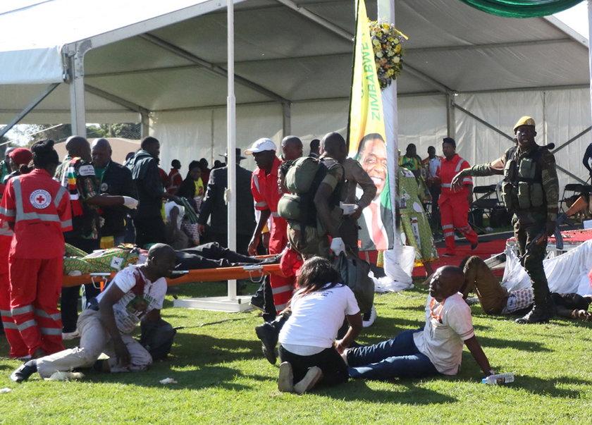 Zanu PF election campaign rally