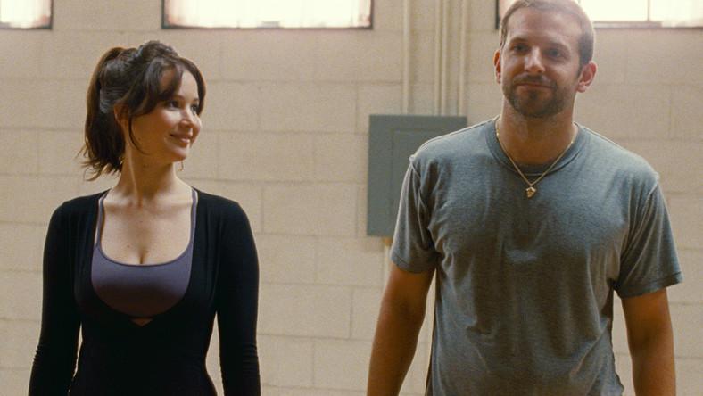 """Jennifer Lawrence i Bradley Cooper w """"Poradniku pozytywnego myślenia"""""""