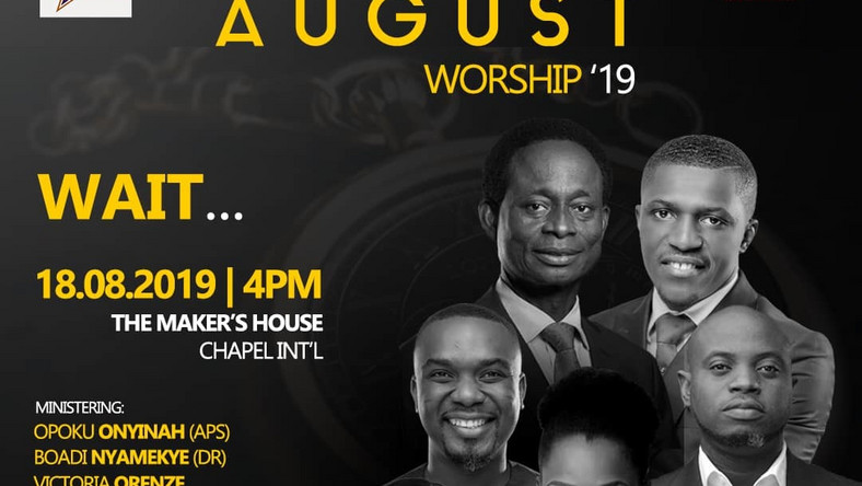 Jeshurun Okyere, Joe Mettle, others billed for August Worship concert