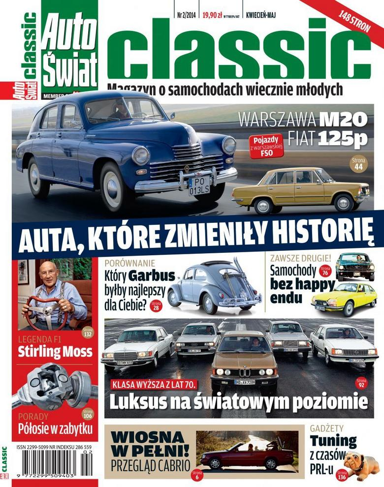 Auto Świat Classic 2/2014 już w sprzedaży