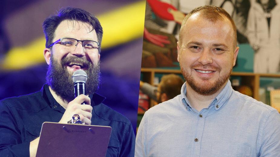 Jakub Ćwiek i Wojciech Chmielarz