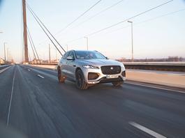 Jaguar F-Pace – przyjemna aktualizacja