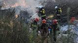 Potężny pożar wysypiska w Łódzkiem. Znów podpalenie?!