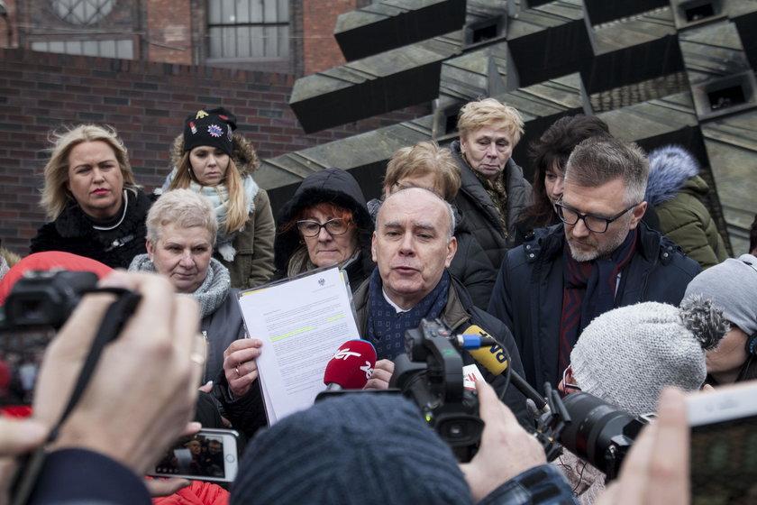 Katowice. Wdowy i emeryci walczą o rekompensatę