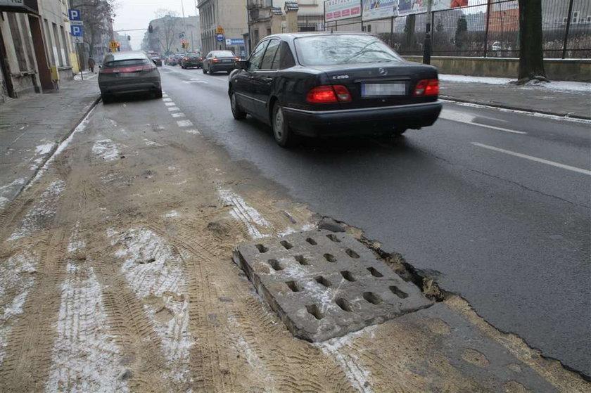 Awarie blokują ulice Łodzi!