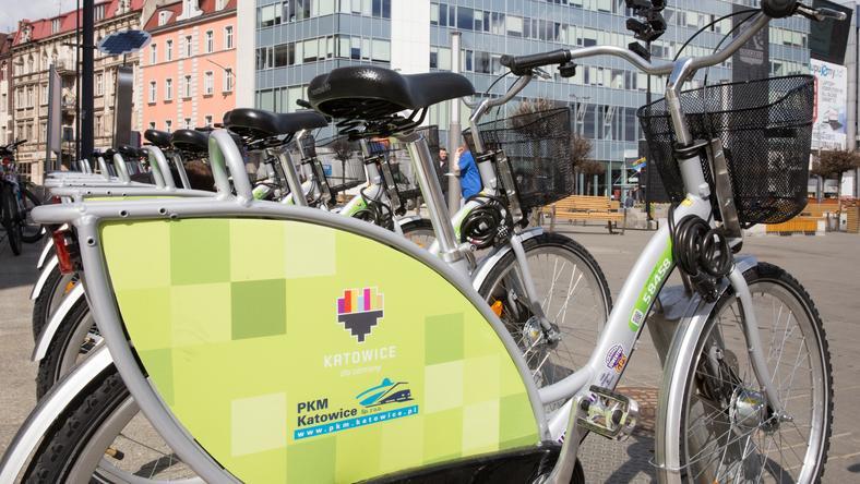 Katowicki szał na miejskie rowery. 12 tys. wypoży