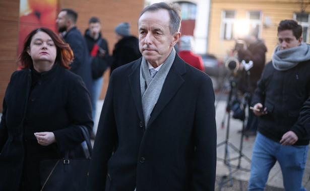 Tomasz Grodzki przedstawił nagranie dźwiękowe, na którym jego były pacjent mówi o próbie przekupienia go kwotą 5 tys. zł w zamian za oczernianie marszałka Senatu