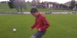 Piłkarski uchodźca z Syrii chce spełnić marzenia