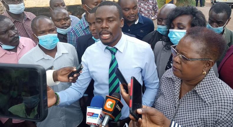 Silvanus Osoro surrenders to Police