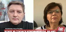 """""""Koronawirus. Raport Faktu"""". Andrzej Rozenek ostro o działaniach rządu w walce z epidemią"""