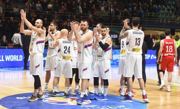 Košarkaška reprezentacija Srbije slavi drugi trijumf u Mundobasket kvalifikacijama