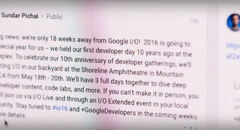18. bis 20. Mai: Was erwartet uns zur Google I/O?