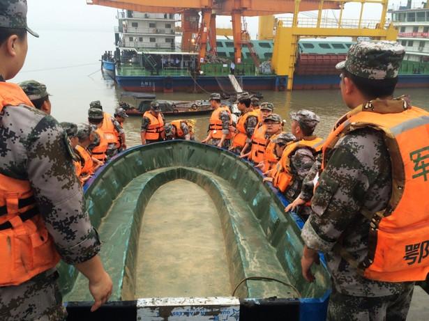 Katastrofa na rzece Jangcy