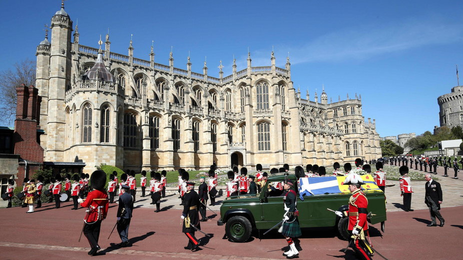 Pogrzeb księcia Filipa