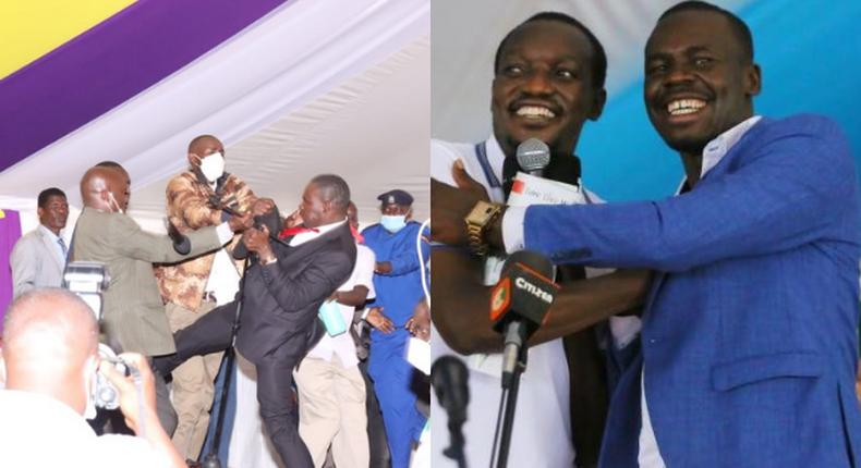 MP Simba Arati and Sylvanus Osoro reconciles weeks after fighting