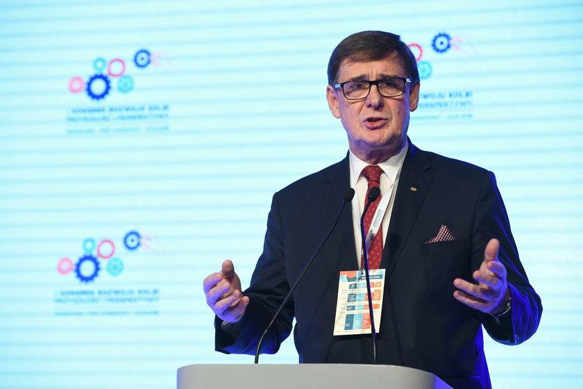 I Kongres Rozwoju Kolei 2019. Prezes Grupy PKP S.A, Krzysztof Mamiński