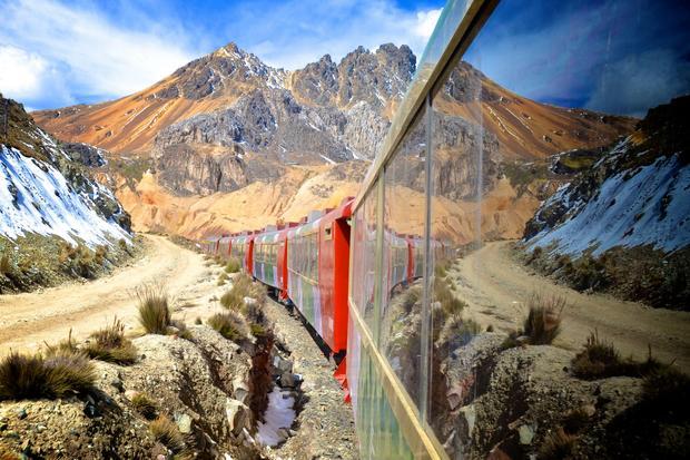 Andyjska linia kolejowa z Limy do Huancayo
