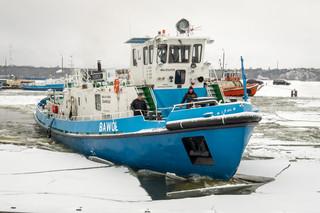 Daca: Lodołamacze ruszają do akcji na Wiśle