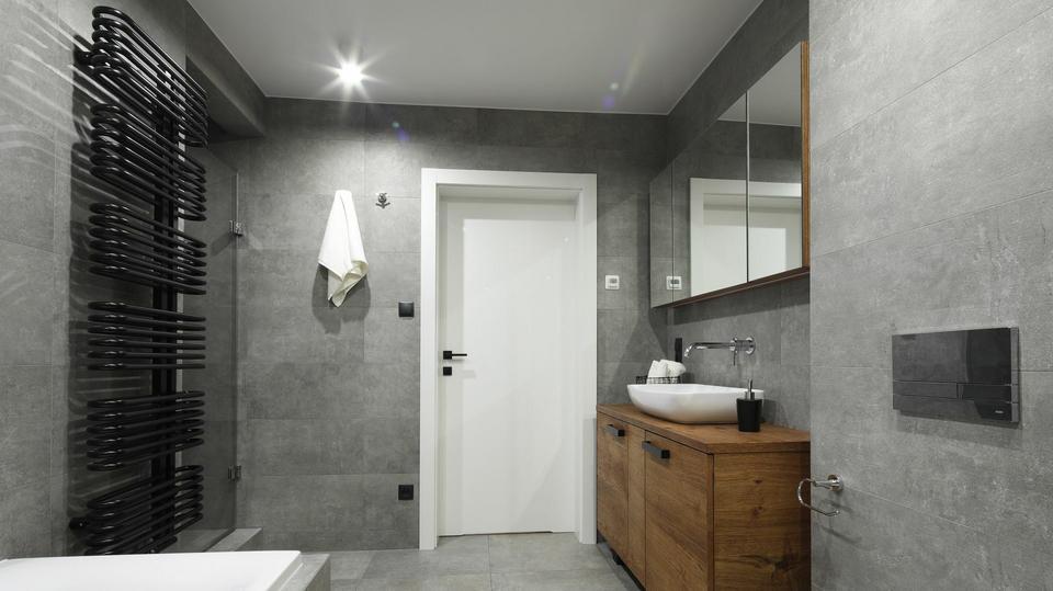 Piękna Szara łazienka Zobaczcie Co Wyjdzie Z Połączenia