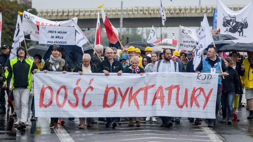 Manifestacja KOD w Gdańsku