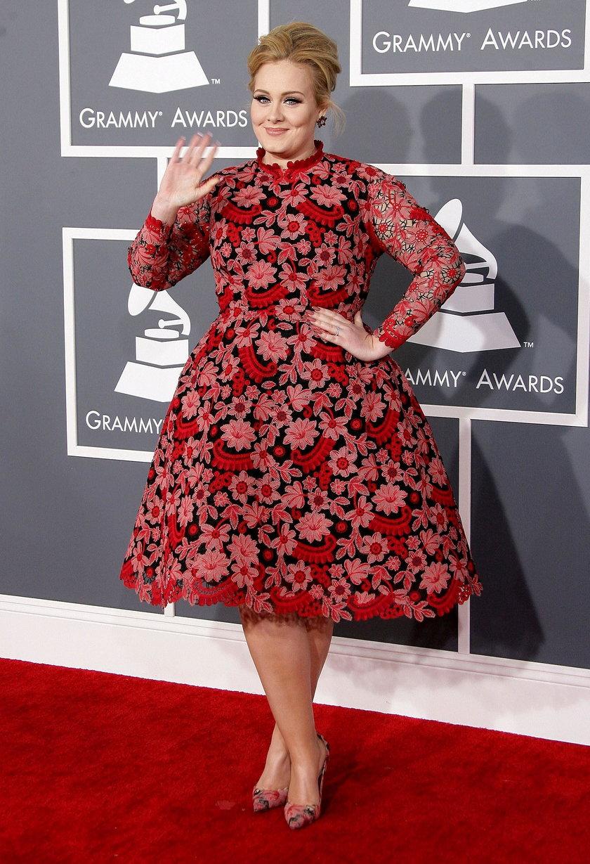 Adele na gali Grammy 2013