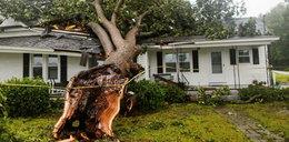 Burza zabiła matkę i dziecko. Katastrofalne skutki powodzi