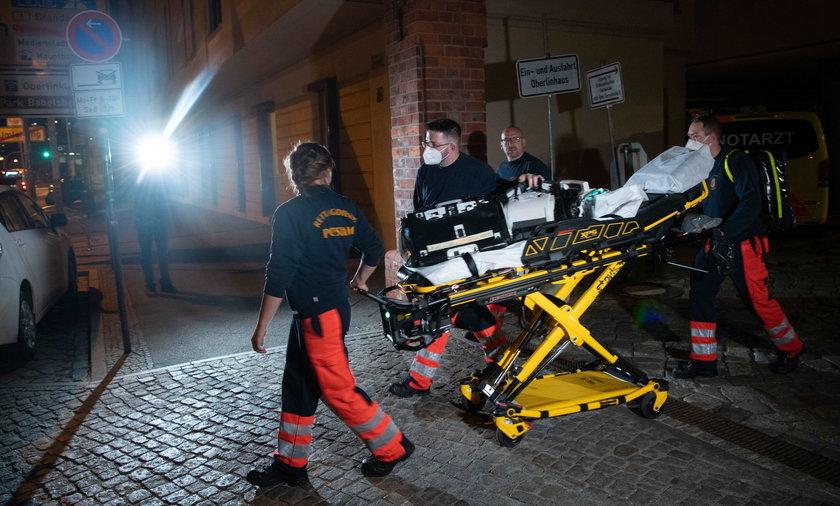 Tragedia w klinice. Cztery osoby zabite, jedna ciężko ranna.