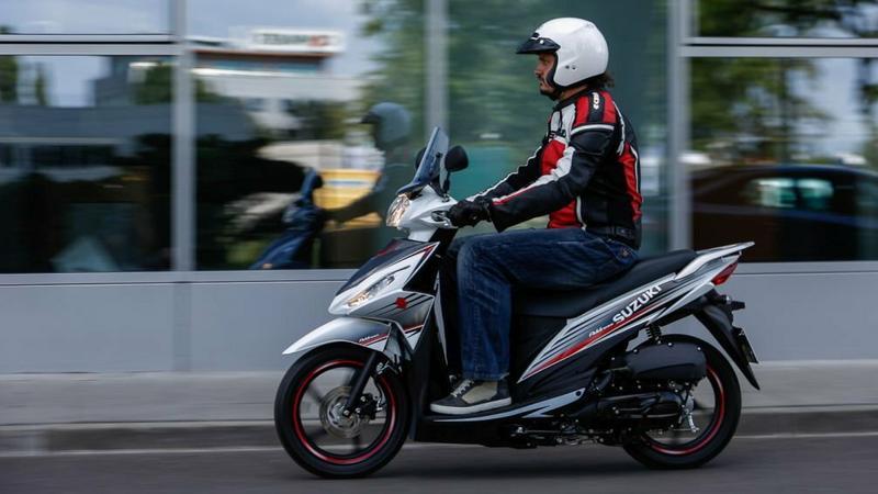 Suzuki Address 125 - również dla kierowców z prawem jazdy kat. B