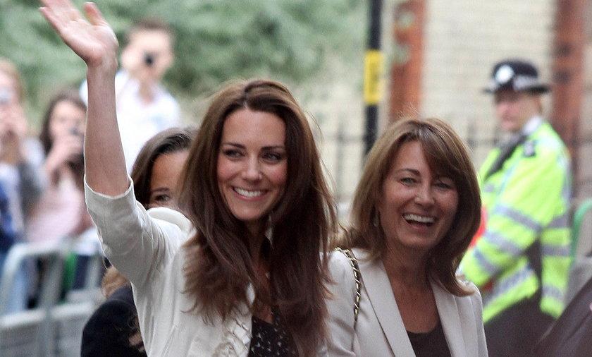 Kate i Carole Middleton