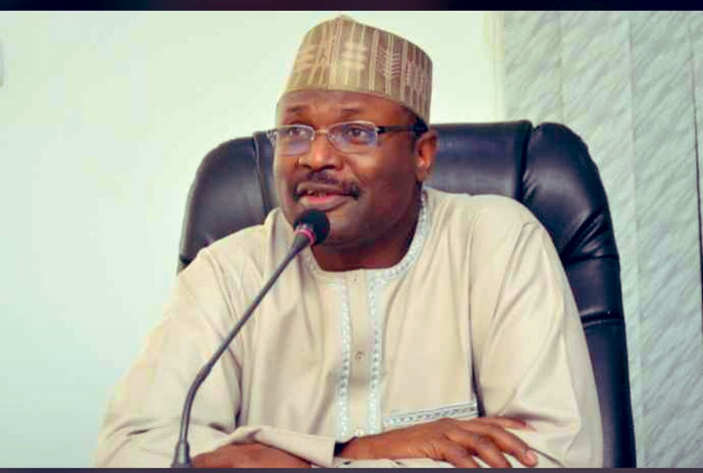 INEC Chairman Prof. Mahmood Yakubu says the 74 political parties did not meet requirement. (Premium Times)