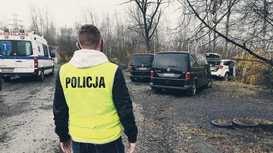 Ruda Śląska: Policyjny pościg, padły strzały 36-latek nie żyje