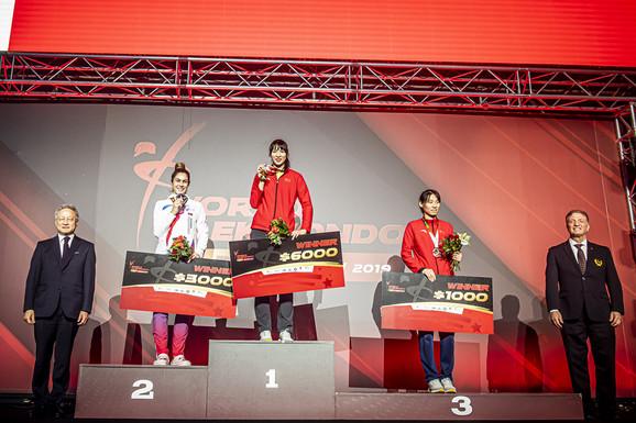 Milica Mandić se okitila srebrnom medaljom