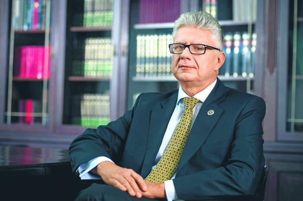 Krzysztof Boszko, adwokat, członek Naczelnej Rady Adwokackiej, kandydat na prezesa NRA
