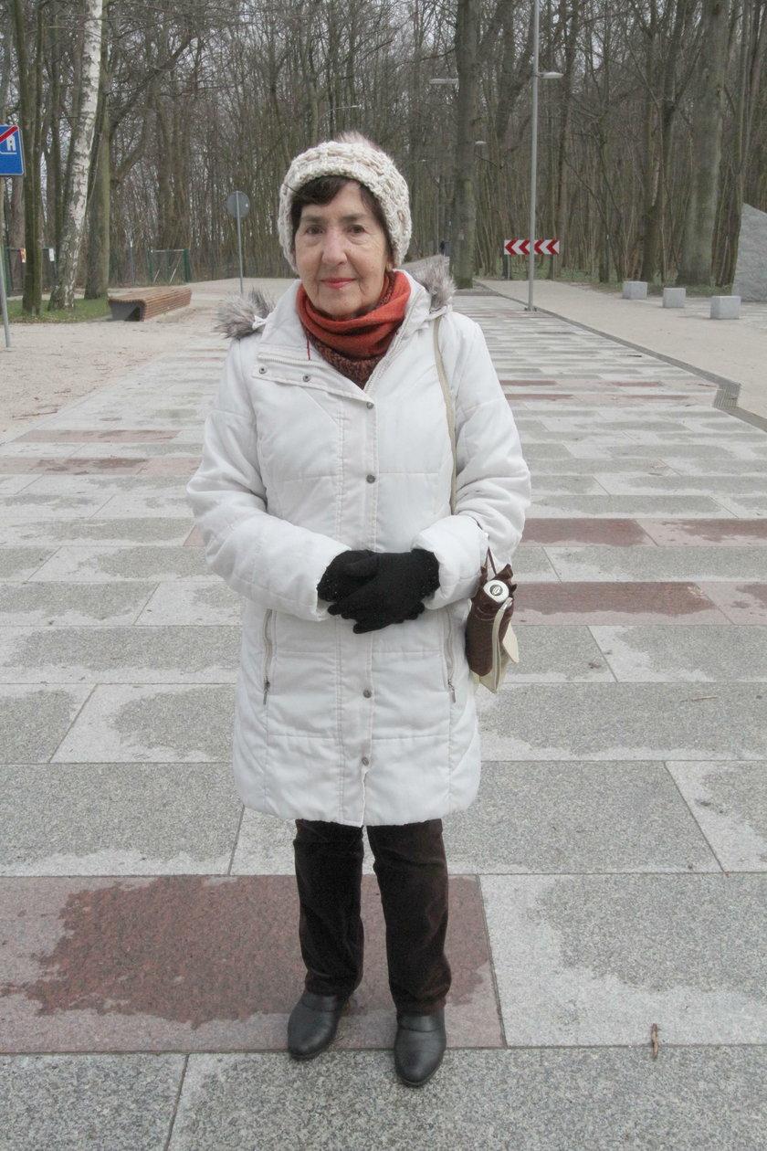 Helena Siwek (79 l.) emerytka z Krakowa