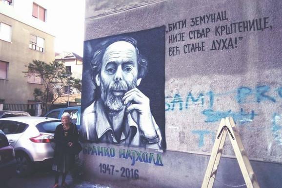 Branko Najhold ima i svoj mural