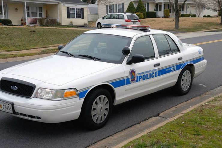 SAD policija merilend