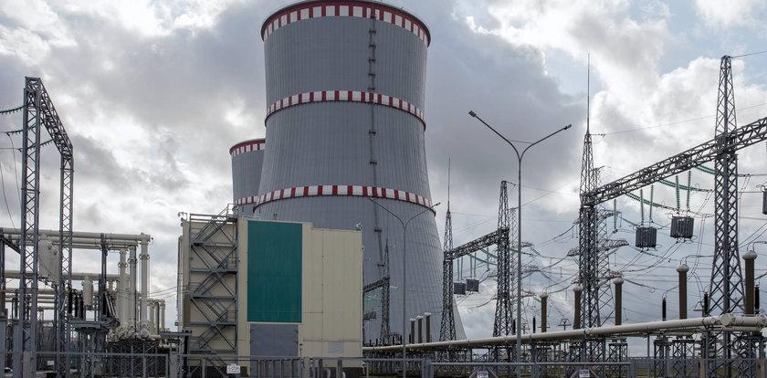 Groźny komunikat na stronie białoruskiej elektrowni atomowej