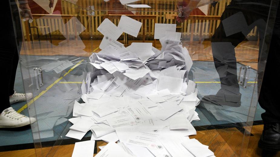 Liczenie głosów w II turze wyborów prezydenckich