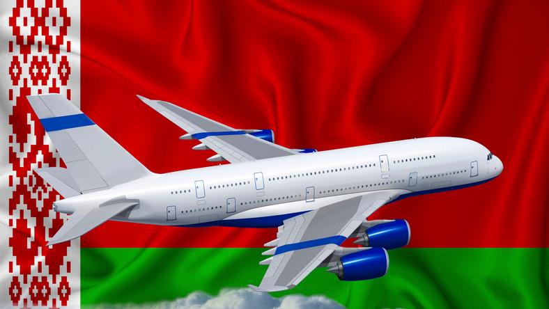 Zakaz lotów dla białoruskich linii