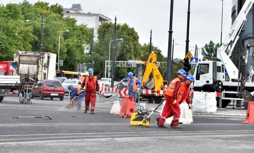 Przebudowa skrzyżowania Marszałków w Łodzi