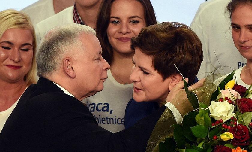 PiS wieczór wyborczy.