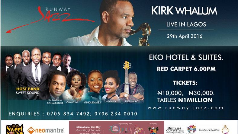 Donald Duke makes his debut performance at Runway Jazz with Kirk Whalum