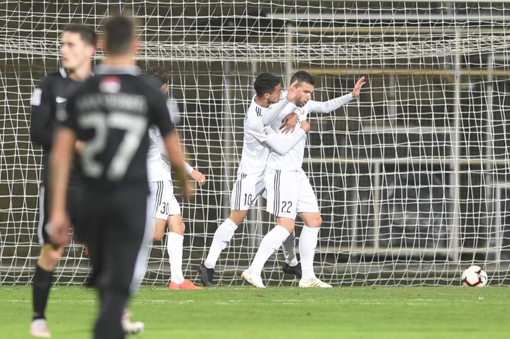 FK Čukarički - FK Partizan
