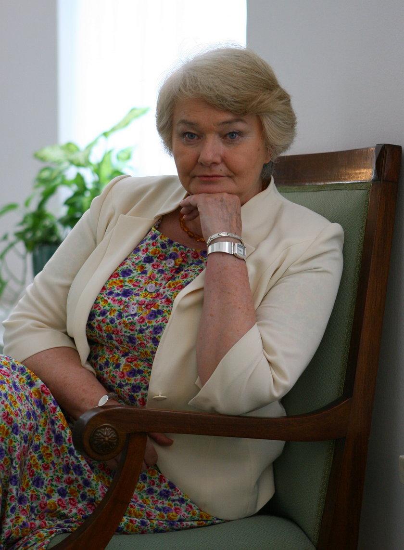 Posłanka Krystyna Łybacka