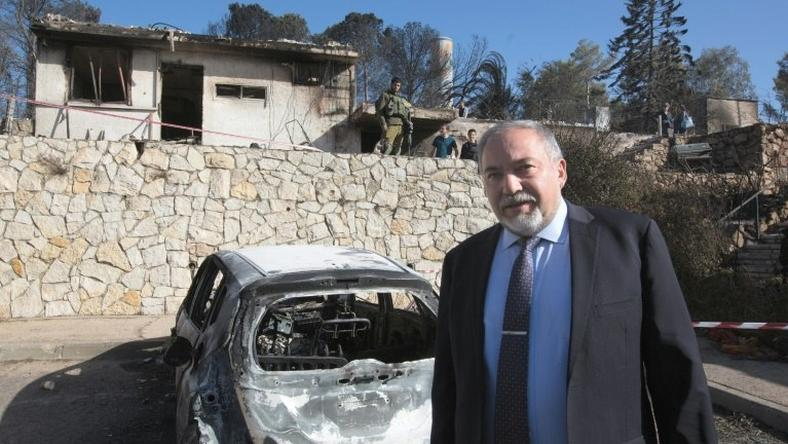 Israel's Defense Minister Avigdor Lieberman also urged French Jews to move to Israel