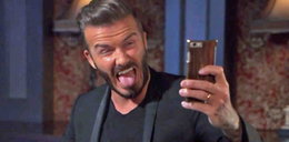 Straszne selfie Beckhama!